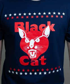 Black Cat Patriotic T-Shirt 2
