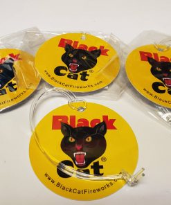 Black Cat Luggage Tags
