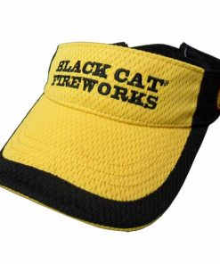 Black Cat® Yellow Mesh Visor
